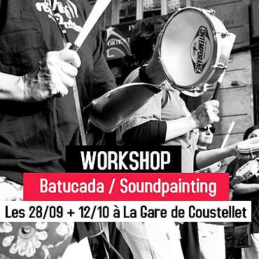 Workshop : Batucada / Soundpainting (2 jours)